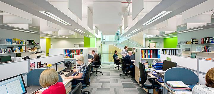 Вентиляция в офисе, кабинете, офисном помещении в Москве