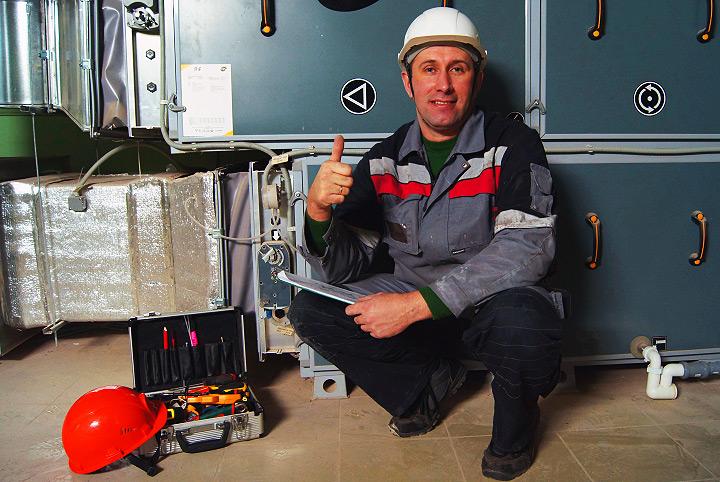 Техническое обслуживание систем вентиляции и кондиционирования, сервис и ремонт
